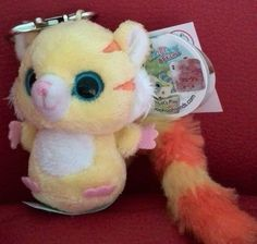 NEW Aurora YooHoo & Friends Timon the Tiger Keyring Plush soft toy 3 inches A