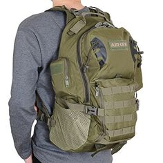 Bushcraft Backpack, Molle Backpack, Survival Backpack, Tactical Backpack, Backpack Bags, Survival Gear, Hiking Bag, Hiking Backpack, Mochila Edc