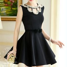 Fashion Cotton Style, Sleeve Designs, Cute Outfits, Style Inspiration, Sleeves, Black, Dresses, Fashion, Vestidos
