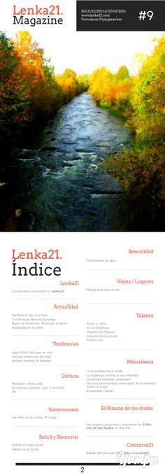 Ayer nos pasamos el día maquetando el número 9 de Lenka21Mag, el magazine digital libre. ¡Disfrutadlo! :)  #Diseño #Editorial #Magazine #Revista  http://www.yumpu.com/es/document/view/21822059/lenka21mag-2013-12-21