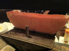 Raclette fundiendose suavemente