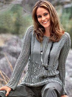 Crochet Woman, Knit Crochet, Cardigan Sweaters For Women, Crochet Clothes, Knit Dress, Hand Knitting, Knitwear, Knitting Patterns, Clothes For Women