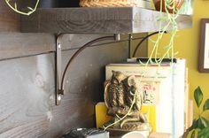 DIY Shelving >> http://blog.diynetwork.com/tool-tips/2012/11/19/diy-shelving-for-every-home/?soc=pinterest