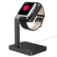 This premium #Aluminum #Charging #Dock #Stand is specially designed for Apple Watch released in 2015. It is compatible with any version 38mm and 42mm. Aluminum material makes it best companion for your noble iWatch. A good place to keep your iWatch when it needs charging. Also, this stand provides comfortable viewing experience.