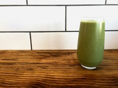 Tropical Green Smoothie - Green smoothies are a great way to boost your daily intake of greens! This tasty tropical recipe will become one of your favorite green smoothie recipes!