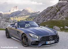 Mercedes-Benz AMG GT C Roadster 2017 poster, #poster, #mousepad