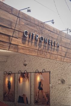 Publicty graphics| boutique facade| advertisement design| wood facade| industrial style| boho signs