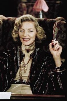 Lauren Bacall in Murder on the Orient Express
