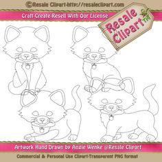Lil Boy #Kitties #Digital #Stamp