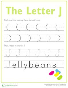 First, kids trace lines on this prekindergarten writing worksheet to strengthen…