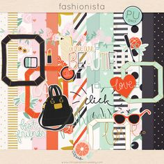 Fashionista mini kit freebie from Citrus Mint