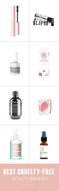 9 amazing cruelty-free beauty brands to know about and shop now. // #Beauty #Makeup