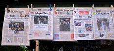 Quante copie vendono i quotidiani, rispetto a quattro anni fa