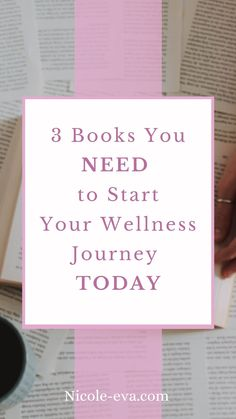 With these three books you can start your wellness journey today Trending Topics, You Must, Lifestyle Blog, Journey, Wellness, How To Get, Reading, Books, Libros
