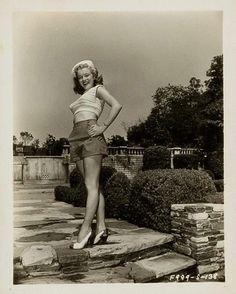 Marilyn. Photo by Ed Baird, 1947.