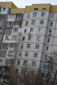 This is a very good representation of the average person's housing in the capital.... I still think it's beautiful! chisinau, moldova