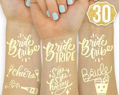 Bachelorette Party Planning, Engagement Party Decorations, Bachelorette Party Decorations, Bachelorette Weekend, Sailor Bachelorette Party, Bachelorette Bride Gifts, Bachlorette Party, Party Tattoos, Brides With Tattoos