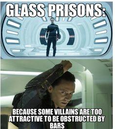 Glass prisons..... Oh Abby....sooooo funny!