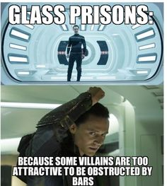 Glass prisons..... Oh Abby....sooooo funny!