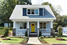 Building Dormers On Houses: Building a shed dormer house addition ideas for extra living , Craftsman Bungalow Exterior, Craftsman Cottage, Craftsman Style Homes, Craftsman Bungalows, Bungalow Porch, Dormer House, Shed Dormer, Dormer Windows, Style At Home