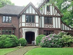 Lovely 1920's Tudor for sale in High Point, NC. 1/2 an acre and over 4,500 sq. feet for $395,000