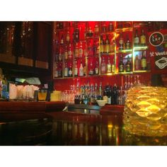 Meanwhile in Hongkong / Lux Bar @ LKF Meanwhile In, Liquor Cabinet, Bar, Cool Stuff, Places, Painting, Travel, Furniture, Home Decor
