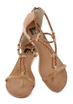 Desert Stroll Sandal in Dune by BC Shoes - NEED!