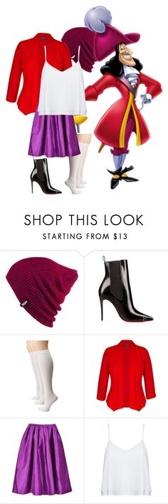 """""""Captain Hook"""" by xxmonnyxx on Polyvore featuring Vans, Sperry, City Chic, Alice + Olivia and plus size clothing"""
