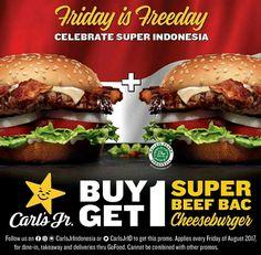 Carls Jr Promo Merdeka http://www.perutgendut.com/read/carls-jr-promo-merdeka/6339?utm_content=buffer8c44c&utm_medium=social&utm_source=pinterest.com&utm_campaign=buffer #Promo #Indonesia #Merdeka #Burger