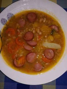 Gyors bableves virslivel Soups, Soup