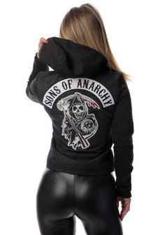 Sons of Anarchy Costumes PCW-SOA-7D - Womens Sons Of Anarchy Denim Highway Jacket, #SonsofAnarchyCostumes, #PCWSOA7D, #TV/MovieCostumes