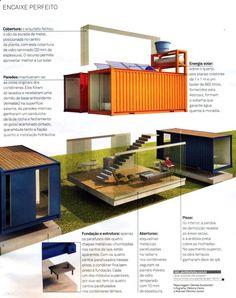 Container House - Tempos modernos pedem soluções inovadoras. Com essa ideia em mente, o arquiteto… Who Else Wants Simple Step-By-Step Plans To Design And Build A Container Home From Scratch?