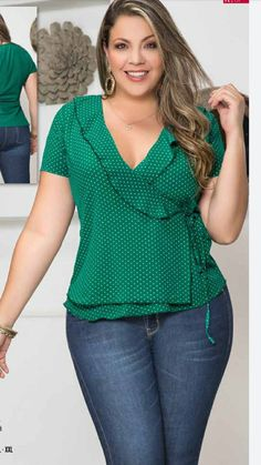 Moda Plus, Plus Size Tops, Crochet Top, Fashion Dresses, Casual Outfits, Long Sleeve, Womens Fashion, How To Wear, Style