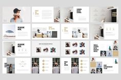 WOULES - Powerpoint Template by PitchLabs.co on @creativemarket
