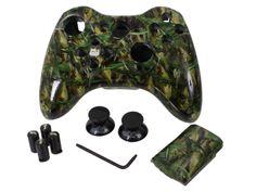 Fish Camo Evil D-Pad Xbox 360 Controller DIY Kit