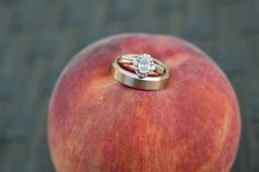 Custom Engagement ring made by Brilliance.com ! An Intimate Vintage Boho Wedding
