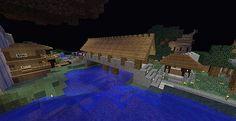 Road Design and Bridge Design Minecraft Project