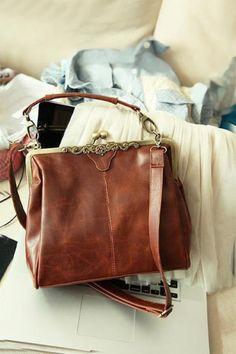 Retro Pu Leather Single Shoulder Bag