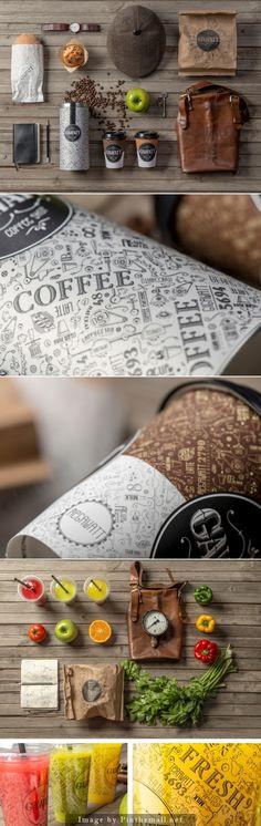 Gawatt Coffee Shop by Backbone Branding