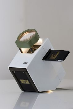 1962 projector and slide viewer by Dieter Rams