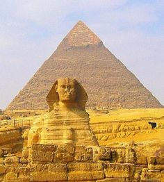 スフィンクスとピラミッド。スフィンクスのまとめ。