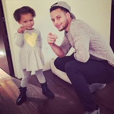 Riley Curry be like...