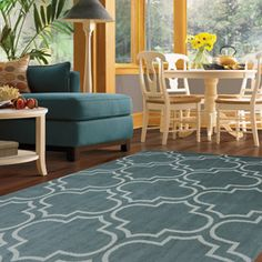 Great rug for my bedroom! Mohawk Home Hampton Woven Area Rug