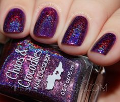 Chaos & Crocodiles Secrets Of Tomorrow | Peachy Polish