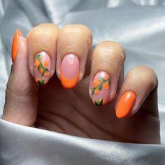 Nail Candy, Orange Fruit, Nail Art, Nails, Life, Instagram, Finger Nails, Orange, Ongles