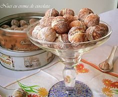 Romanian Food, Romanian Recipes, Truffles, Biscuits, Muffin, Good Food, Food And Drink, Sweets, Bread