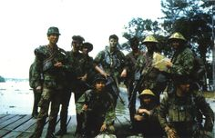 United States Navy In Vietnam | united states navy seals pose for a photo somewhere in vietnam 1970 ...