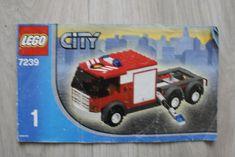 Lego 7239 INSTRUCTION BOOK City Fire Truck BOOK ONE #Lego Lego Instruction Books, Book City, Lego Instructions, Lego Building, Fire Trucks, Ebay, Fire Engine, Fire Truck