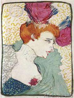 Henri de Toulouse-Lautrec - Marcelle Lender