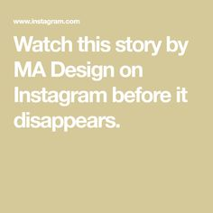 Watch this story by MA Design on Instagram before it disappears. Jewelery, Watches, Instagram, Design, Jewlery, Wrist Watches, Wristwatches, Jewerly, Tag Watches